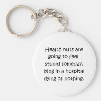 Health Nuts Key Chain