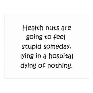 Health Nuts Postcard