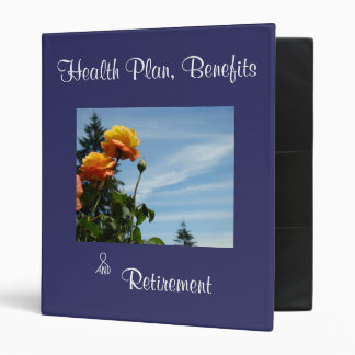 Health Plan binders Employee Benefits Retirement