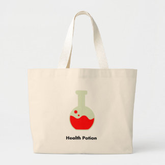 health_potion_900x900 large tote bag