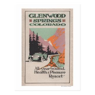 Health Resort Poster 1 Post Cards