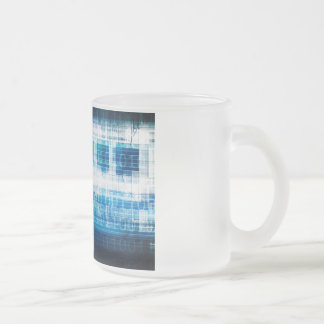 Health Science as a Concept for Medical Info Frosted Glass Coffee Mug
