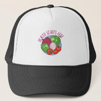 Health Starts Here Trucker Hat