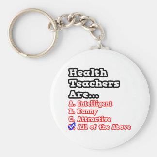 Health Teacher Quiz...Joke Keychain