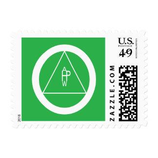 Health Wealth Prosperity Abundance - Postage Stamp