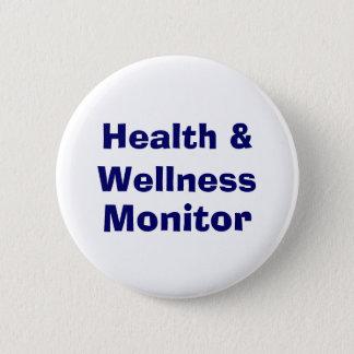 Health & Wellness , Monitor Pinback Button
