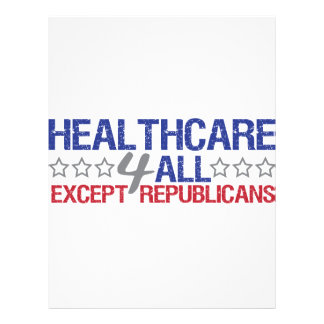 Healthcare 4 all flyer