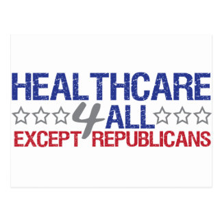 Healthcare 4 all postcard