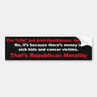 Healthcare Bumper Sticker