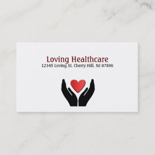Elderly business cards templates zazzle healthcare business cards reheart Gallery