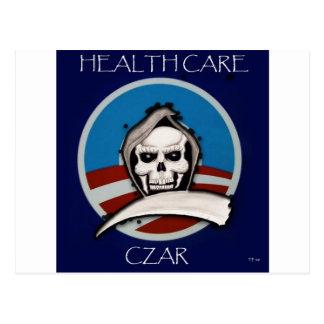 Healthcare Czar Postcard