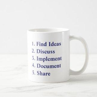 Healthcare Kaizen - 5 Steps Mug