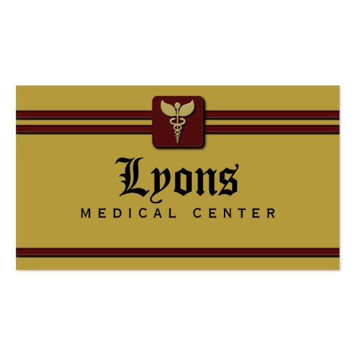 Healthcare medical doctor business cards zazzle for Medical doctor business card