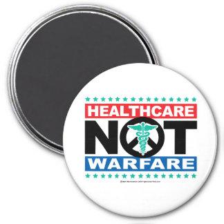 Healthcare NOT Warfare 3 Inch Round Magnet