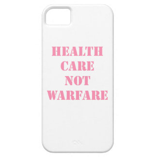 Healthcare Not Warfare Pink iPhone SE/5/5s Case