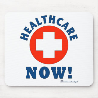 Healthcare Now! Mouse Pad