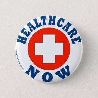 Healthcare Now! Pinback Button