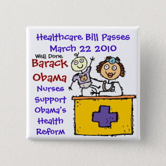 HEALTHCARE PASSES PINBACK BUTTON