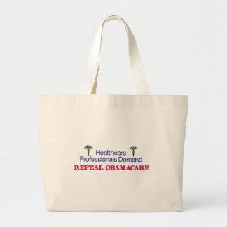 Healthcare Prof Demand Large Tote Bag