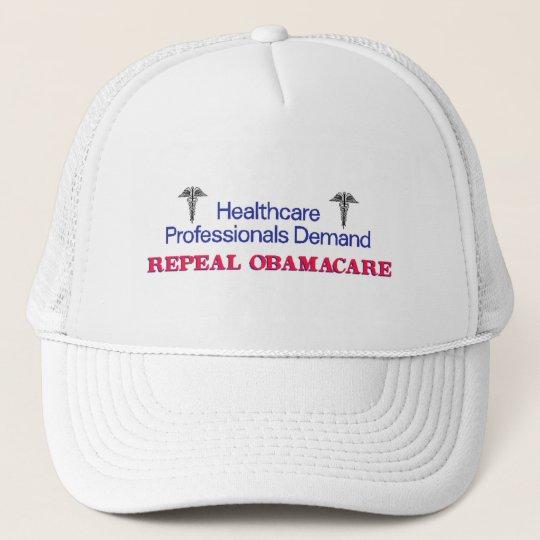 Healthcare Prof Demand Trucker Hat