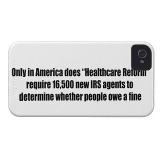 Healthcare Reform Requires 16,500 New IRS Agents iPhone 4 Case-Mate Case