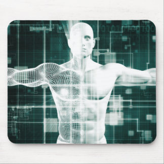 Healthcare Technology and Medical Scan Mouse Pad