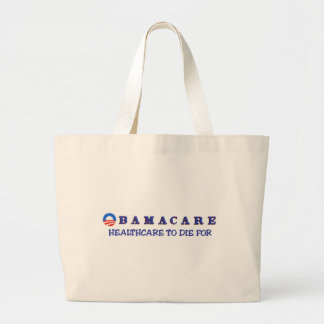 Healthcare to Die For Large Tote Bag