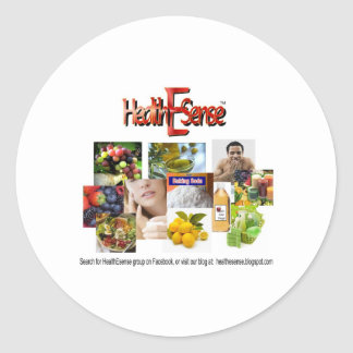 HealthEsense Products Classic Round Sticker