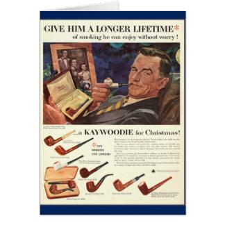 Healthful Smoking of Tobacco! Card