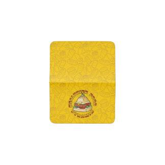 Healthier Food Pyramid Business Card Holder