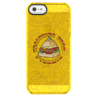 Healthier Food Pyramid Clear iPhone SE/5/5s Case