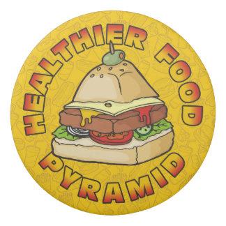 Healthier Food Pyramid Eraser