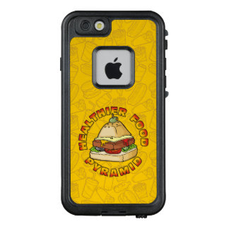 Healthier Food Pyramid LifeProof FRĒ iPhone 6/6s Case