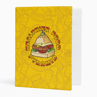 Healthier Food Pyramid Mini Binder