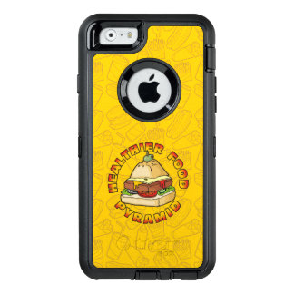 Healthier Food Pyramid OtterBox Defender iPhone Case