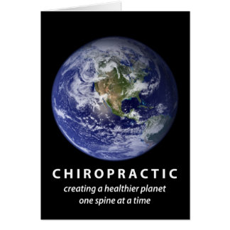 Healthier Planet Chiropractic Note Cards