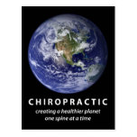 Healthier Planet Chiropractic Postcard