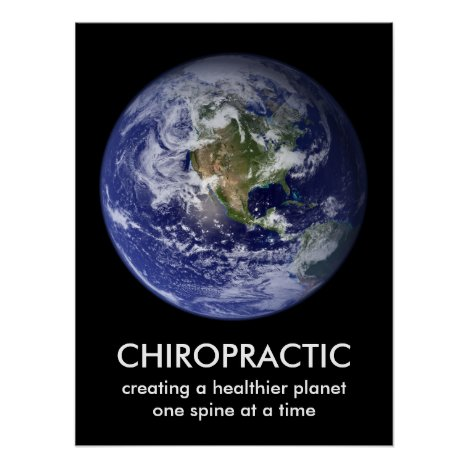 Healthier Planet Chiropractic Print