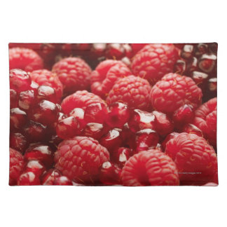 Healthy and nutritious red berries placemat