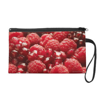 Healthy and nutritious red berries wristlet purse