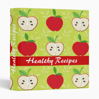 Healthy apple fruit recipes cute cooking binder