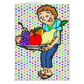Healthy Balanced Diet Card