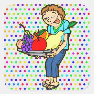 Healthy Balanced Diet Stickers