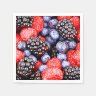 Healthy Berry Fruit mix Disposable Napkin