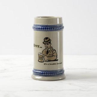 Healthy Beverage Beer Stein