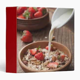 Healthy breakfast binder