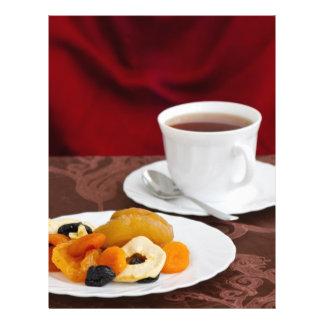 Healthy breakfast flyer