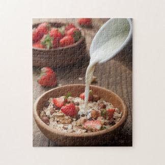 Healthy breakfast jigsaw puzzle
