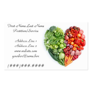 Healthy Business Card