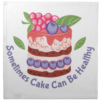 Healthy Cake Napkin